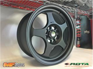 ROTA WHEELS Slip Strem (SPOON STYLE) 15x7!! Puerto Rico MF Motor Import
