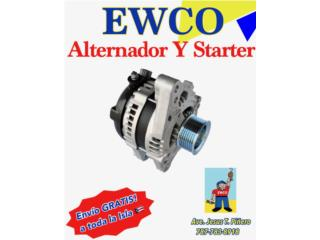 ALT TY ECHO 00-05 GARANTIA X VIDA Y ENVIO!! Puerto Rico ALTERNADORES Y STARTERS EWCO