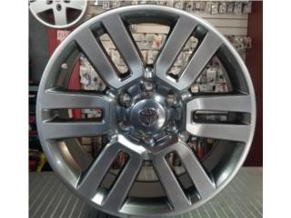 AROS 20 X 8.5 PARA TACOMA, 4RUNNER, ETC.. Puerto Rico All Wheels Accesories