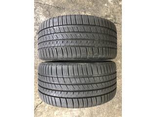 2 GOMAS 255-35-19 MICHELIN Puerto Rico Import Tire