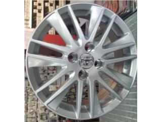 Aros 15 x 6.0, 4 x 100 Para Yaris, Prius, etc Puerto Rico All Wheels Accesories