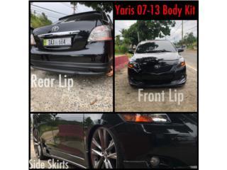 BODY KIT YARIS SEDAN 07-13 Puerto Rico MUSIC ON AUTO ACCESSORIES INC.