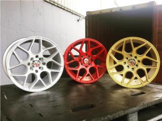 KOMBAT Wheels K17 - NUEVO ESTILO - 15x8 Puerto Rico aroshop