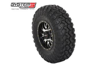 28X10R-14 SYSTEM 3 TIRES FOR RZR & CAN-AM Puerto Rico SSF MOTORSPORT
