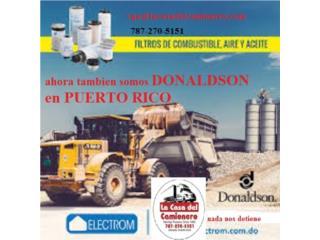 PARA CAMIONES DONALDSON EN PUERTO RICO Puerto Rico  La Casa del Camionero