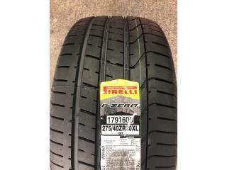 2 GOMAS 275-40-20 PIRELLI P ZERO Puerto Rico Import Tire