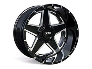 AROS XM-315 TAMANOS 20X12 22X12 24X12 LLLAMA! Puerto Rico JJ Wheels and Tires