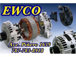 ALT TY TERCEL 93-98 GARANTIA X VIDA  Puerto Rico ALTERNADORES Y STARTERS EWCO