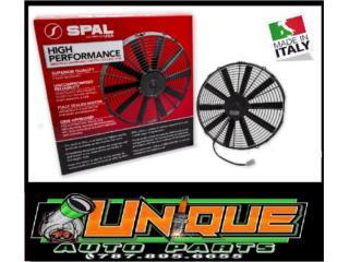 Abanico Racing SPAL Performance Puerto Rico UNIQUE AUTO PARTS