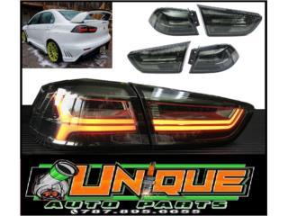 Focos Traseros Lancer 08-17 Audi Smoke Puerto Rico UNIQUE AUTO PARTS