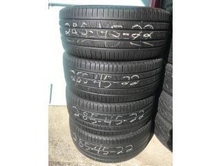 4 Gomas usadas 305/40/22/ Bridgestone  Puerto Rico GOMERA ESPINAL