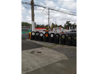 4 gomas usadas 225/55/18/ hankook Puerto Rico GOMERA PIPE.COM