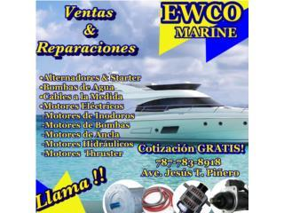 ALTERNADORES, STARTERS Y MOTERES ELECTRICOS  Puerto Rico ALTERNADORES Y STARTERS EWCO