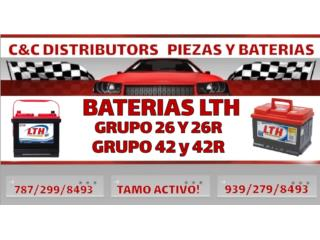 BATERIA 26R LTH 2 AÑOS NUEVA Puerto Rico C & C DISTRIBUTORS BATERIA 8am a 5pm 939-279-8493