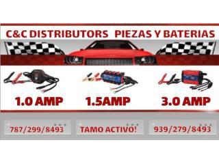 CARGADORESY MANTENEDOR DE MOTORA Y JET KIT Puerto Rico C & C DISTRIBUTORS BATERIA 8am a 5pm 939-279-8493