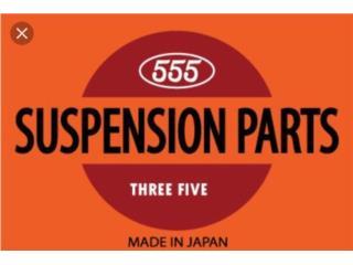 KIT SUSPENCION JAPONESA PARA ACCORD 2008-2012 Puerto Rico CENTRAL ORIGINAL PARTS