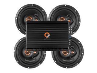 COMBO 4 Voces+Planta 3400 Watts Puerto Rico Top Electronics