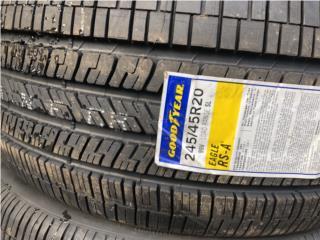 2 GOMAS 245-45-20 GOOD YEAR RSA NUEVAS Puerto Rico Import Tire