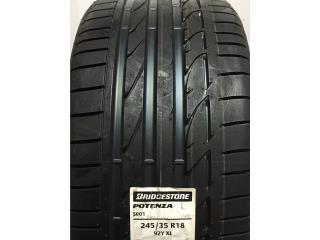 Bridgestone 245/35R18 Potenza S001 Run Flat Puerto Rico CENTRO GOMAS SAVARONA