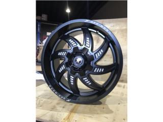 Xf 22x10 tacoma tundra gmc  Puerto Rico 4 X 4 OF ROAD WHEEL