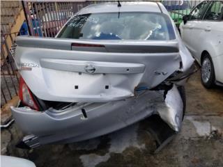Nissan Versa 2014 en piezas  Puerto Rico Junker Ramos Auto Piezas Inc.