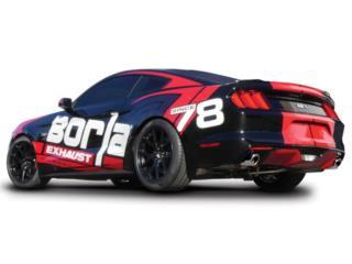 Mustang GT 2015-2017 Cat-Back™ Exhaust S-Type Puerto Rico Borla Exhaust (iParts Borla Exhaust Distributors)