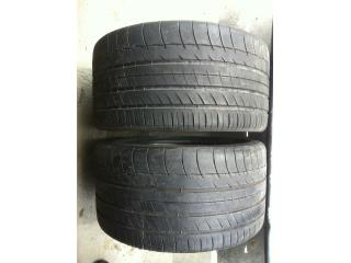 2 GOMAS 295/35/18 MICHELIN Puerto Rico Import Tire