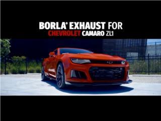 Camaro ZL1 3 Puerto Rico Borla Exhaust (iParts Borla Exhaust Distributors)