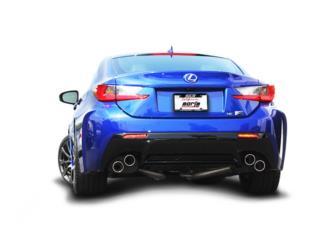LEXUS RC F 2015-2018 Cat-Back™ Exhaust  Puerto Rico Borla Exhaust (iParts Borla Exhaust Distributors)
