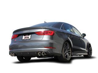 Audi 8V S3 2015-2018 Cat-Back S-Type  Puerto Rico Borla Exhaust (iParts Borla Exhaust Distributors)