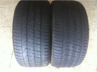 2 GOMAS 265/35/18 PIRELLI P ZERO Puerto Rico Import Tire
