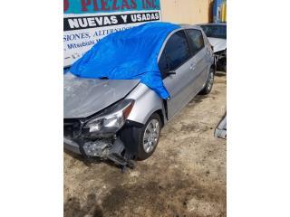 Toyota Yaris 2017 en piezas Puerto Rico Junker Ramos Auto Piezas Inc.
