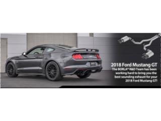 Mustang GT 2018 Cat-Back™ Exhaust S-Type  Puerto Rico Borla Exhaust (iParts Borla Exhaust Distributors)