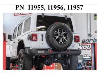 Wrangler JL/ JLU 2018 Axle-Back Exhaust ATAK® Puerto Rico Borla Exhaust (iParts Borla Exhaust Distributors)