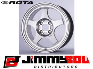ROTA Slipstream /15x6.5 /Gun Metallic /4x100 Puerto Rico JIMMY BOU DISTRIBUTORS