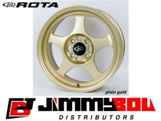 ROTA Slipstream / 15x6.5 / Gold / 4x100 Puerto Rico JIMMY BOU DISTRIBUTORS