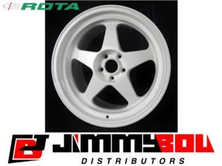 ROTA Slipstream / 15x7 / White / 4x100 Puerto Rico JIMMY BOU DISTRIBUTORS