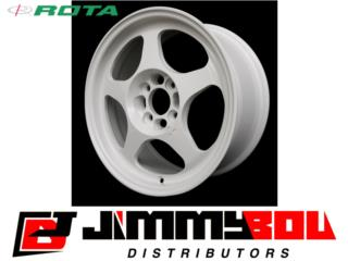 ROTA Slipstream / 16x7 / White / 4x100 Puerto Rico JIMMY BOU DISTRIBUTORS