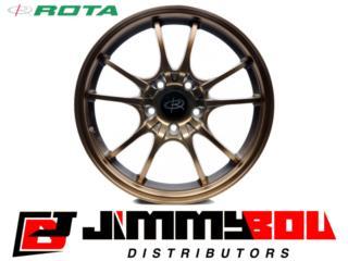 ROTA Circuit 10 / 15x6.5 /Sport Bronze /4x100 Puerto Rico JIMMY BOU DISTRIBUTORS