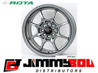 ROTA Circuit 8 / 15x6.5 / Steel Grey Puerto Rico JIMMY BOU DISTRIBUTORS