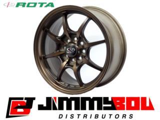 ROTA Circuit 8 / 15x6.5 /Sport Bronze /4x100 Puerto Rico JIMMY BOU DISTRIBUTORS