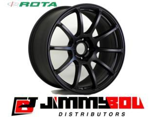 ROTA G-Force / 18x9 / Flat Black / 5x100 Puerto Rico JIMMY BOU DISTRIBUTORS