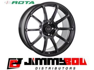 ROTA G-Force / 18x9 / Hyper Black / 5x100 Puerto Rico JIMMY BOU DISTRIBUTORS