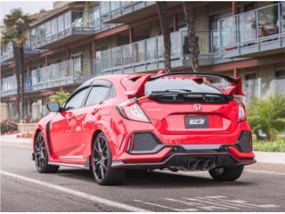 Civic Type R 2017-2018 Cat-Back™ Exhaust ATAK Puerto Rico Borla Exhaust (iParts Borla Exhaust Distributors)