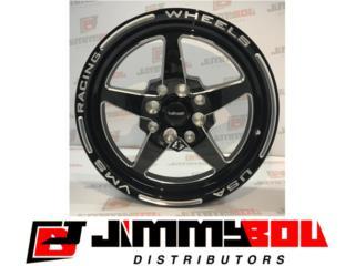 VMS Star Racing Wheelset (4) 15x8 y 15x3.5 Puerto Rico JIMMY BOU DISTRIBUTORS