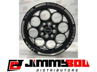 VMS Modulo Racing Wheelset (4) 15x8 y 15x3.5 Puerto Rico JIMMY BOU DISTRIBUTORS