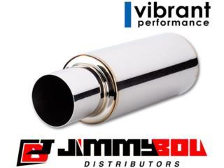 Pipas VIBRANT PERFORMANCE Universales Puerto Rico JIMMY BOU DISTRIBUTORS
