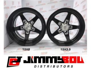 5-Star Racing Wheelset 15x8 / 15x3.5 Puerto Rico JIMMY BOU DISTRIBUTORS