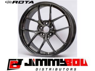 ROTA KB-F / 18x8.5 / Hyper Black / 5x114 Puerto Rico JIMMY BOU DISTRIBUTORS