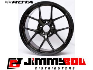 ROTA KB-F / 18x8.5 / Yamaha Black / 5x100 Puerto Rico JIMMY BOU DISTRIBUTORS